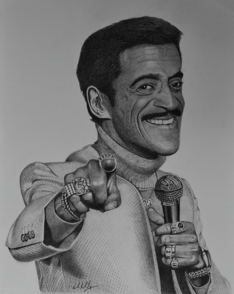 Sammy Davis Jr. by ktboldy